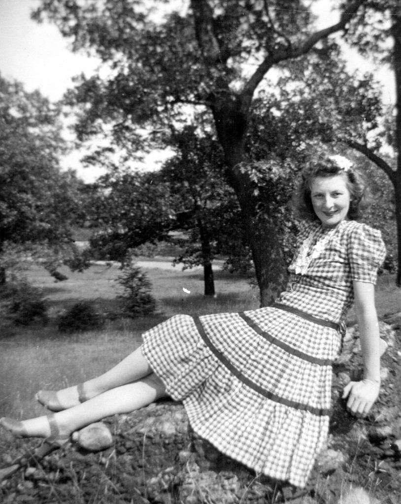 My mother in her 1940's glory.