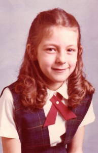 My school changed uniforms after my first grade year. This is the only photo I have of me demonstrating this Oxford intelligence flare. Also note the circles under eyes...still have skin of an eight year old...amazing.