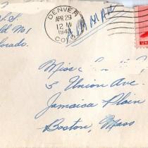 Letter memorial day