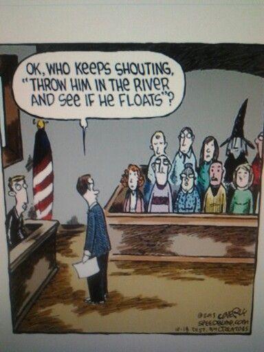 shouting jury