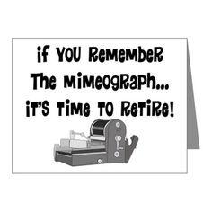 mimeograph